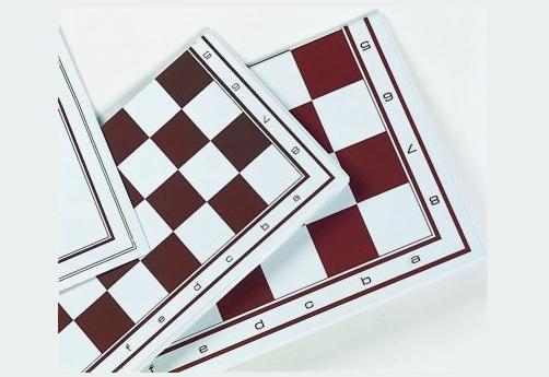 Schach-Plan Feldgröße 55 mm