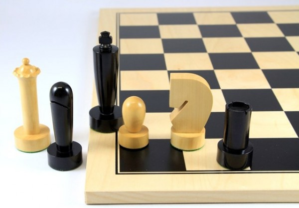 Schach-Set Timless Black Basic