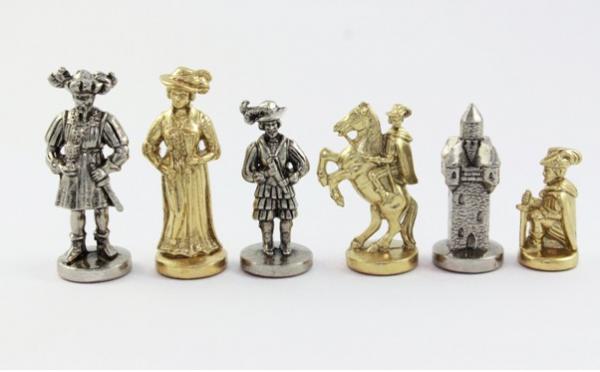 Schachfiguren Landesknechte