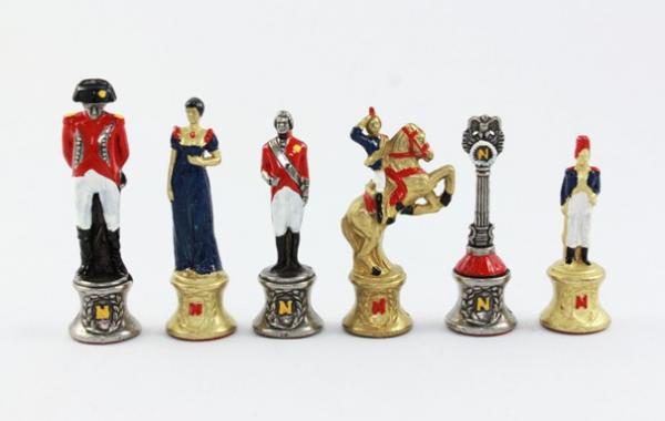 Napoleon Zink-Figuren, handbemalt