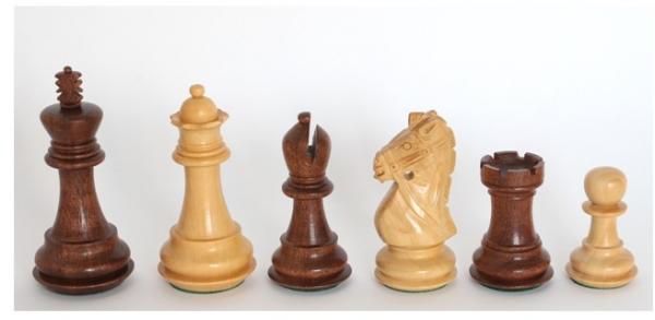 Schachfiguren Reign-Knight, König 95 mm