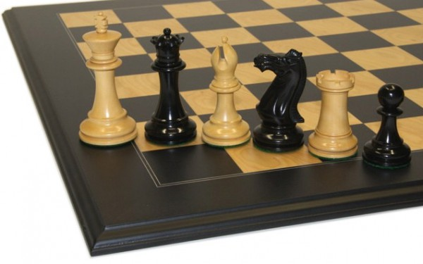 Schach-Set Black Vidicator