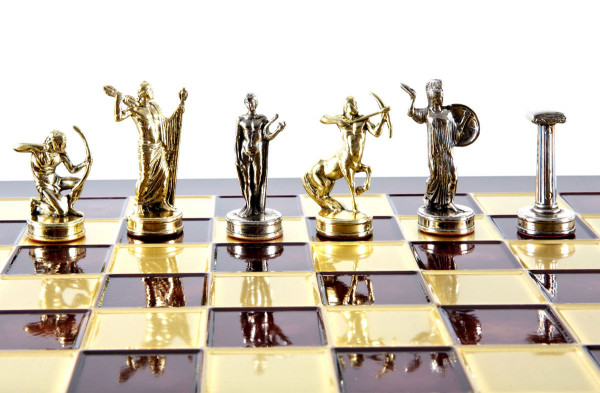 Schachspiel Herkules Legende mit Geschenkbox