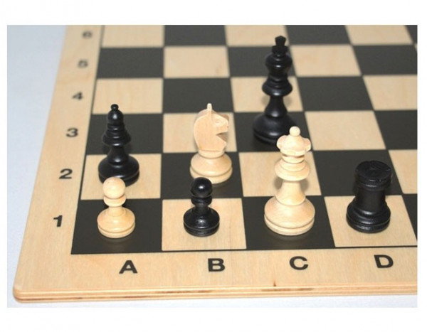 Schach-Set Bohemia Black Königshöhe 62 mm