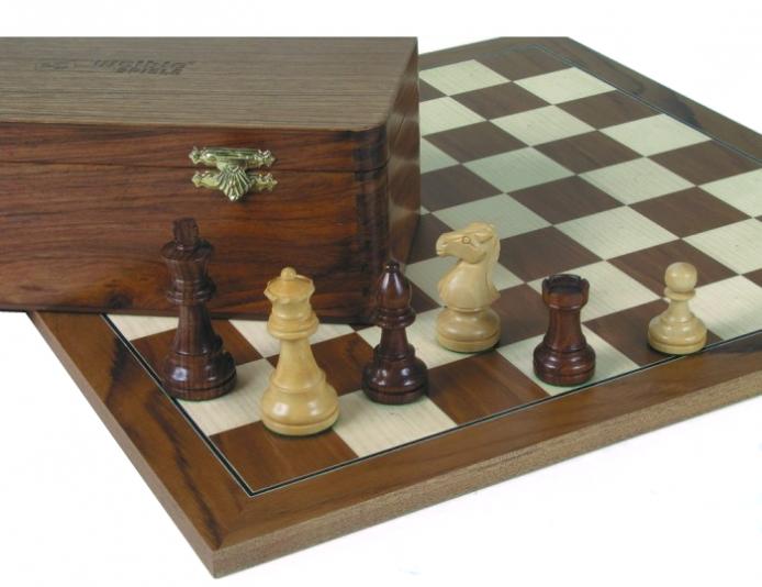 Schachspiel kaufen: Staunton-Schachfiguren-Jubilauums-Edition
