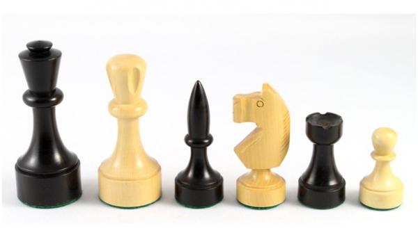 Schachfiguren Paramo, Königshöhe 89 mm