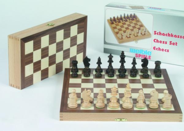 Schachkassette als Geschenk, FG 35  mm