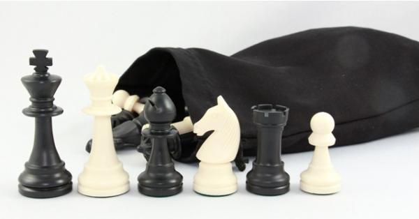 Schachfiguren-Kunststoff KH 95 mm