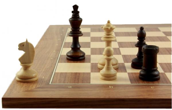 Schach-Set Bohemia Brown 72