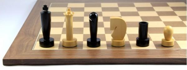 Schach-Set Timeless Black Wama
