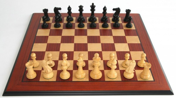 Schach-Set Black Vidicator Top