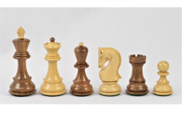 Schachfiguren Torac Akazie und Buchsbaum, Königshöhe 102 mm