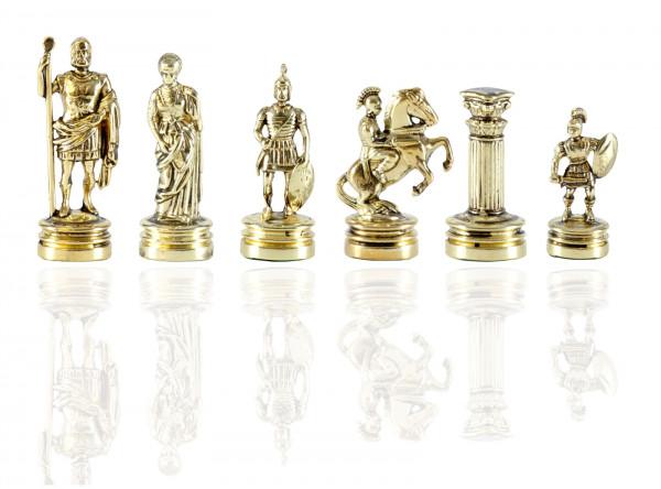 Schachfiguren Griechisch und Römische Zeitperiode, aus Zinklegierung