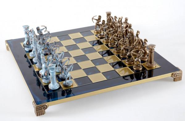 Archers Schachspiel Antik-Stil mit Geschenkbox