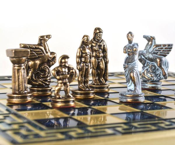 Spartan Krieger Antik-Stil Schachspiel mit Geschenkbox