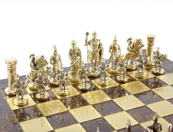 Schachspiel Griechisch und Römische Zeitalter mit luxuriösen Geschenkbox